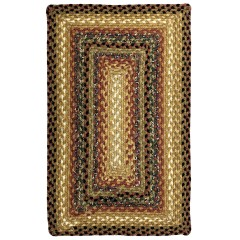 HomespiceCotton BraidedPeppercornGold - Brown