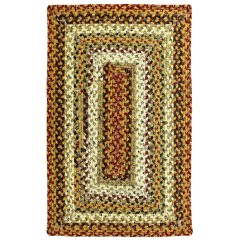 HomespiceCotton BraidedPumpkin PieRed - Beige