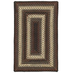 HomespiceUltra Durable BraidedMontgomery Indoor - OutdoorBrown - Beige