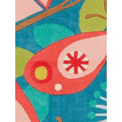 Jaipur RugsIconic By Petit CollageFlutterby IBP08Blue/Pink