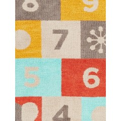 Jaipur RugsIconic By Petit CollageHopscotch IBP03Beige/Red