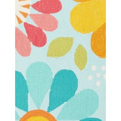 Jaipur RugsIconic By Petit CollageSpring Flowers IBP09Blue/Red