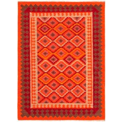 Jaipur RugsAnatoliaIzmir AT06Orange-Red