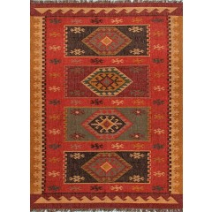 Jaipur RugsBedouinAmman BD04Red-Yellow