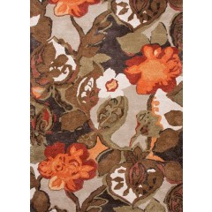 Jaipur RugsBluePetal Pusher BL12Brown-Orange