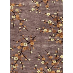 Jaipur RugsBrioCherry Blossom BR16Gray-Yellow
