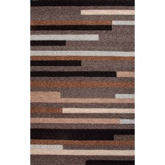 Jaipur RugsCatalinaoffset lines CAT10Taupe-Ivory