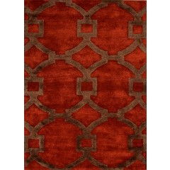 Jaipur RugsCityRegency CT04Red-Brown