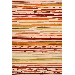 Jaipur RugsColoursSketchy Lines CO18Red-Orange