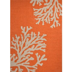 Jaipur RugsGrantBough Out GD01Orange-Ivory