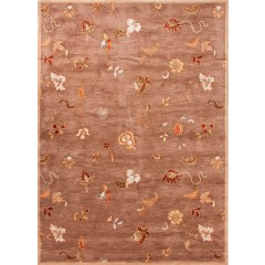 Jaipur RugsPoemeAlsace PM01Taupe-Red