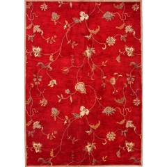 Jaipur RugsPoemeAlsace PM41Red-Ivory