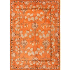 Jaipur RugsPoemeRodez PM57Orange-Green
