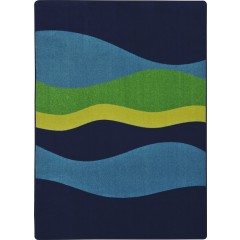 Joy CarpetKid Essentials - Teen Area RugsFlowNavy