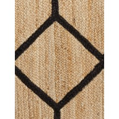 Jaipur RugsSubra By Nikki ChuAten SNK03Natural/Black