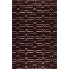 The Rug MarketAlder 44065DBlack-Purple