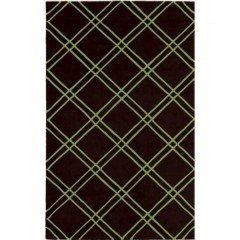 The Rug MarketBailey 72126DBlack-Lime