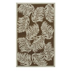 The Rug MarketBoca 25225EBrown-Ivory
