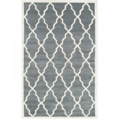 The Rug MarketCamden Pemberly40334DGrey-Ivory
