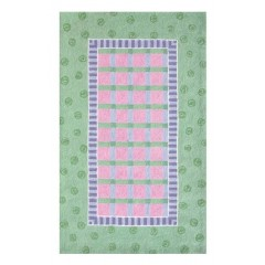 The Rug MarketChelsea Plaid 11231EGrn-Pnk