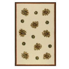 The Rug MarketFloral 25204DYlw-Ivry-Red