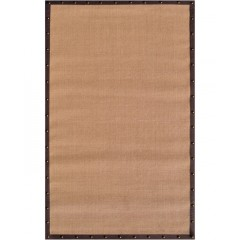 The Rug MarketFrisco Brown Border23319DTan-Brown