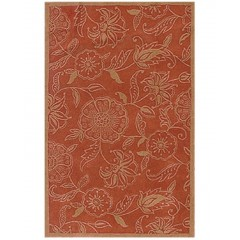 The Rug MarketGiant Floral 45027DRust-Gold