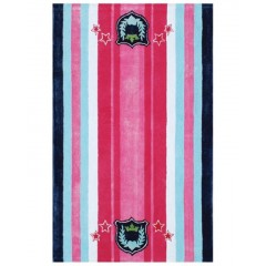 The Rug MarketHigh School Musical-3 12507DPink-Blue-White