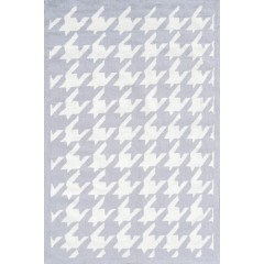 The Rug MarketHoundstooth 25531DLt.Gray-White