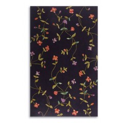 The Rug MarketHyde Park Floral 31056CBlk-Green-Rose