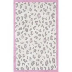 The Rug MarketKids Cheatico12387BCream-Gray-Pink