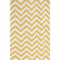 The Rug MarketKids Chevron25610BYellow-White