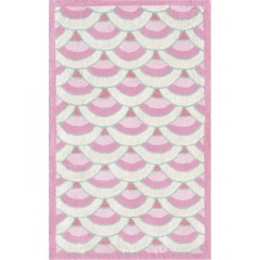 The Rug MarketKids Chi-Lin12390BPink-White-Teal