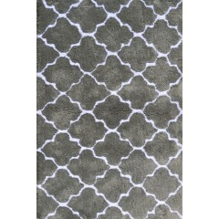 The Rug MarketKids Cloture03103BGrey-White