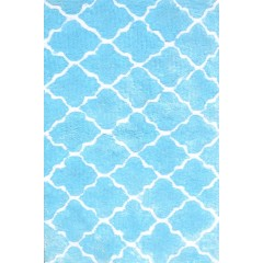 The Rug MarketKids Cloture03104BBlue-White
