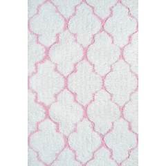 The Rug MarketKids Clouds03102BWhite-Purple