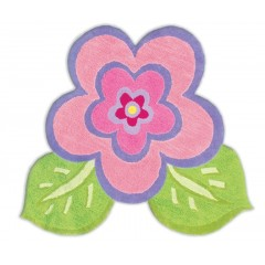 The Rug MarketKids My Pretty Flower11425RPnk-Grn-Prpl