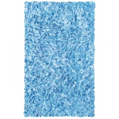 The Rug MarketKids Shaggy Raggy02203BL-Blue