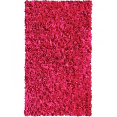The Rug MarketKids Shaggy Raggy02207ARaspberry