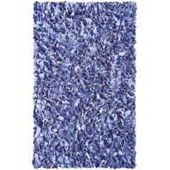 The Rug MarketKids Shaggy Raggy02216ADark Blue