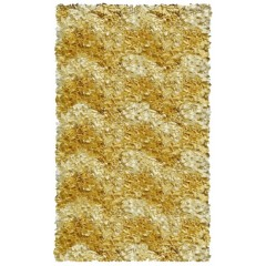 The Rug MarketKids Shaggy Raggy02285BYellow