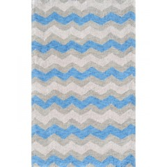 The Rug MarketKids Ziggy-Blue12388BBlue-Gray