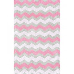 The Rug MarketKids Ziggy-Pink12389BPink-Gray
