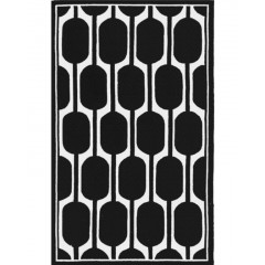 The Rug MarketLola 25486BBlack-White