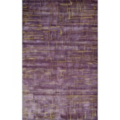 The Rug MarketMaison Anagola44496SPurple-Gold
