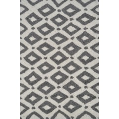 The Rug MarketPop Accents CharterPA0092Gray-White