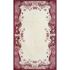 The Rug MarketProvence 16284DRed-Ivory