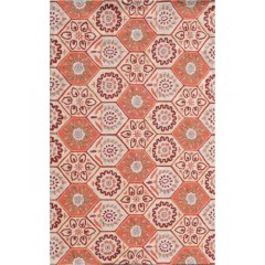 The Rug MarketResort Catalina Coast25497SOrange-Yllw-Blu