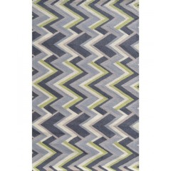 The Rug MarketResort Grey Vector25493DGrey-Green-Crm
