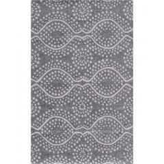 The Rug MarketResort Sandstone Batik25476DGrey-White